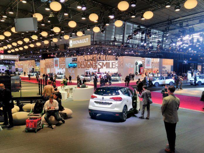 Salon samochodowy Paryż 2016