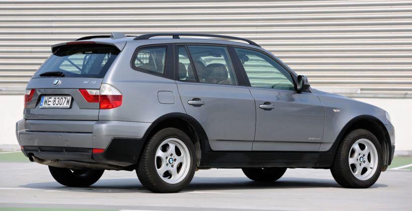 BMW X3 - sylwetka