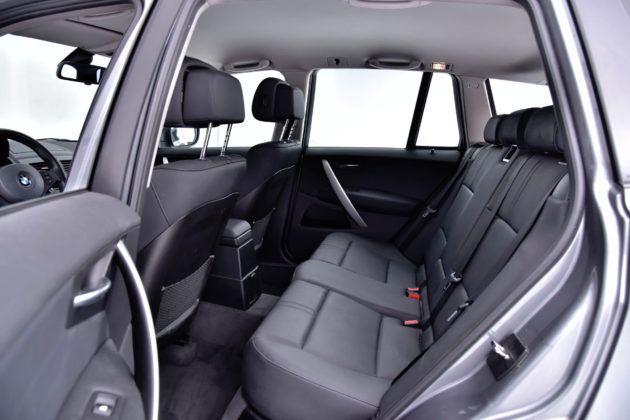 BMW X3 - tylna kanapa