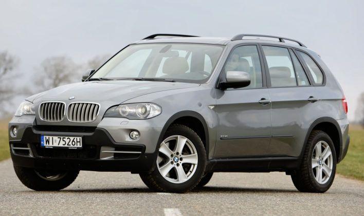 BMW X5 - sylwetka