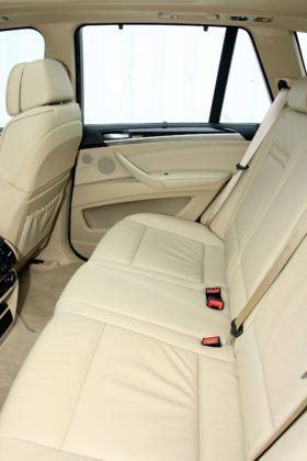 BMW X5 - tylna kanapa