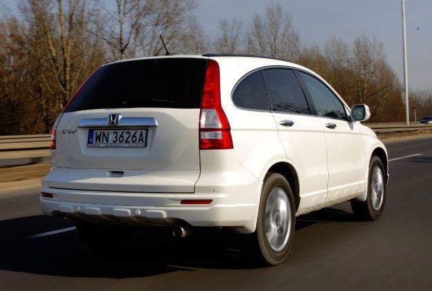 Honda CR-V - sylwetka