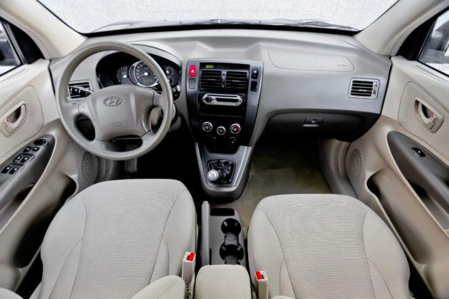 Hyundai Tucson - deska rozdzielcza