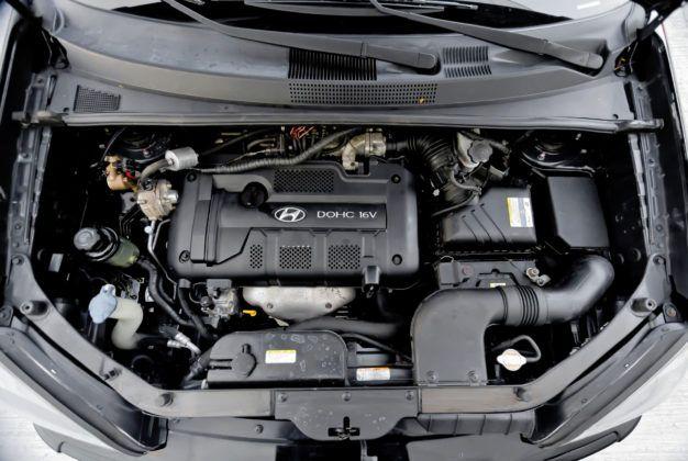 Hyundai Tucson - silnik