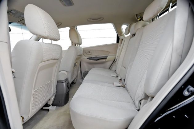 Hyundai Tucson - tylna kanapa