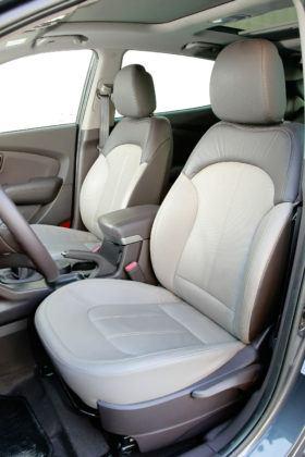 Hyundai ix35 - fotel kierowcy