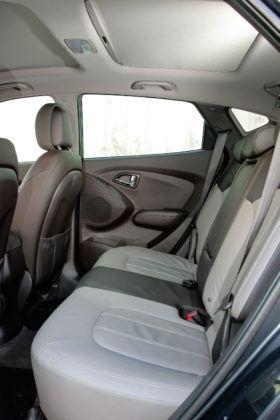 Hyundai ix35 - tylna kanapa