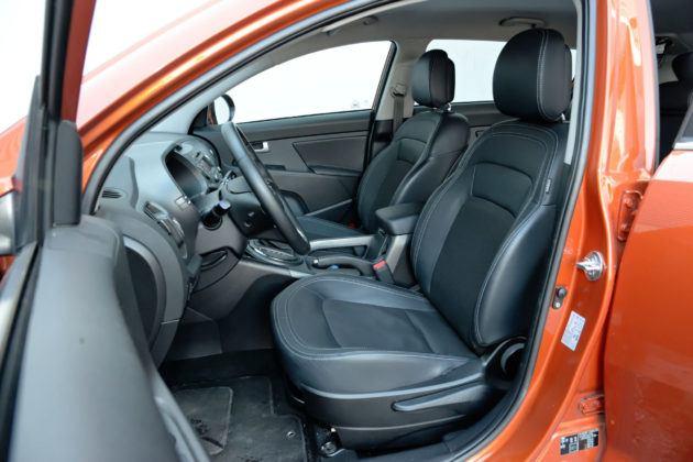 Kia Sportage - fotel kierowcy