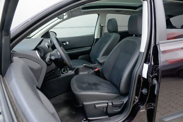 Nissan Qashqai - fotel kierowcy