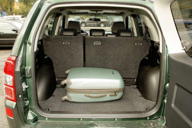 Suzuki Grand Vitara - bagażnik