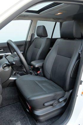 Suzuki Grand Vitara - fotel kierowcy