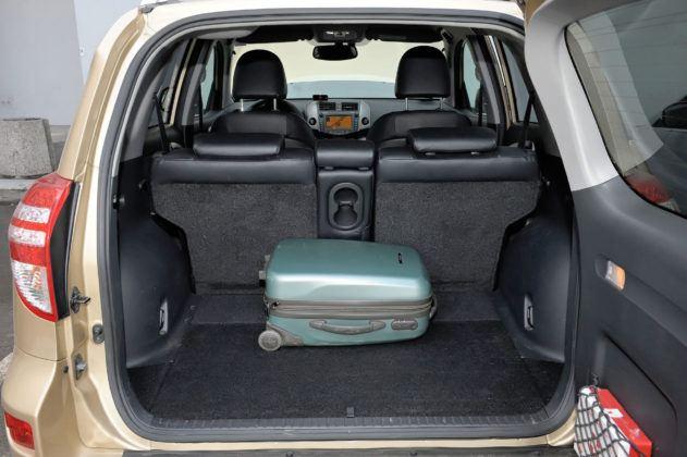 Toyota RAV4 - bagażnik