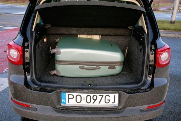 Volkswagen Tiguan - bagażnik