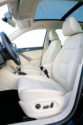 Volkswagen Tiguan - fotel kierowcy