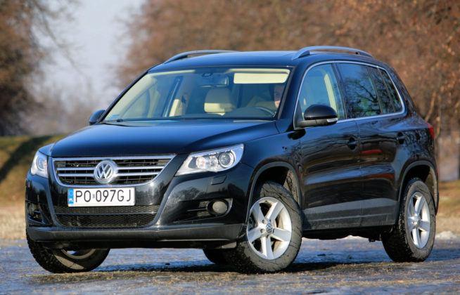 Volkswagen Tiguan - sylwetka