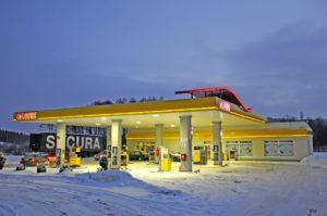 Markowa stacja benzynowa