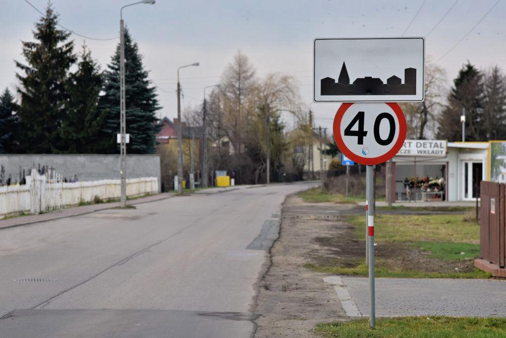 Ograniczenie prędkości na terenie zabudowanym