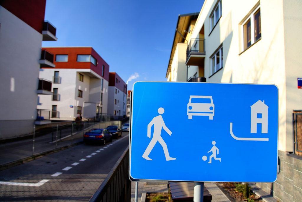 Parkowanie w strefie zamieszkania