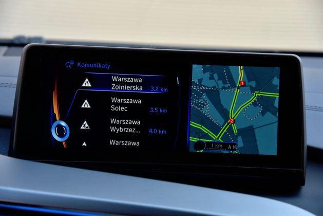 BMW i8 - nawigacja