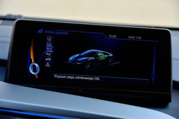 BMW i8 - system multimedialny