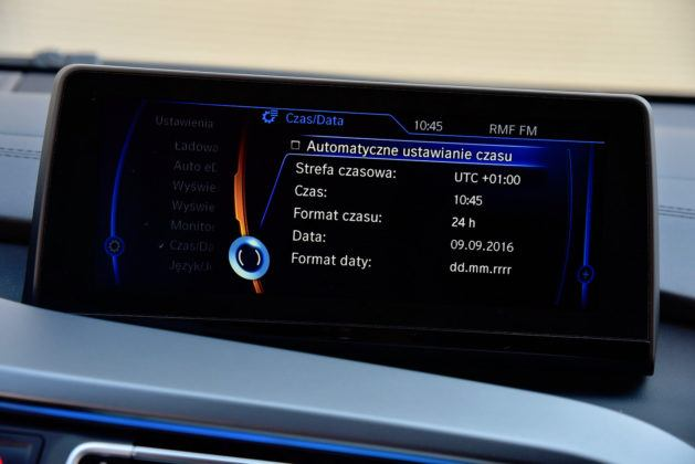 BMW i8 - system multimedialny
