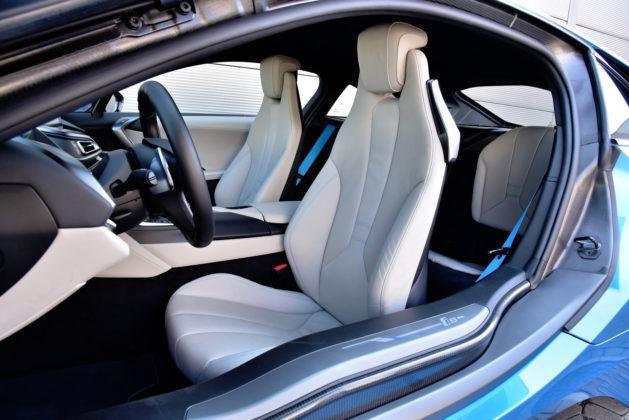 BMW i8 - fotel kierowcy