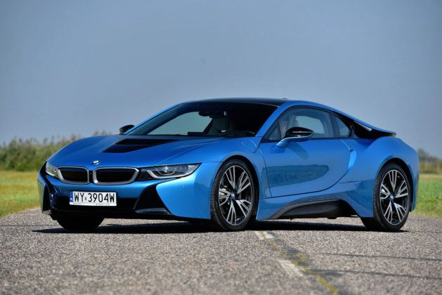 BMW i8 - przód