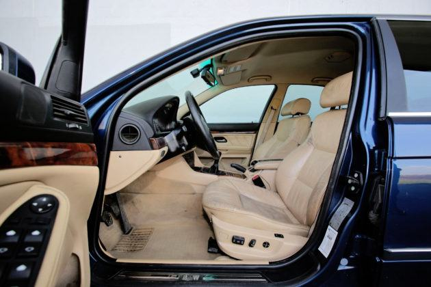 BMW serii 5 E39 - fotel kierowcy