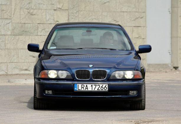 BMW serii 5 E39 - przód