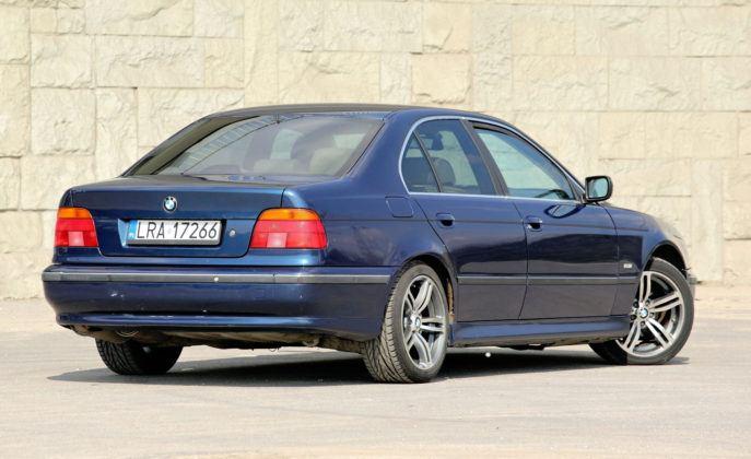BMW serii 5 E39 - tył