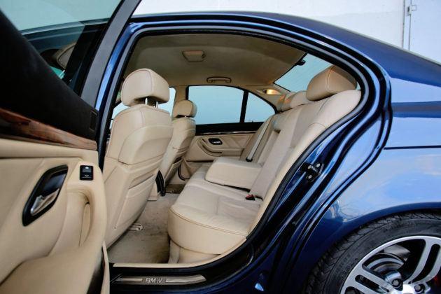 BMW serii 5 E39 - tylna kanapa