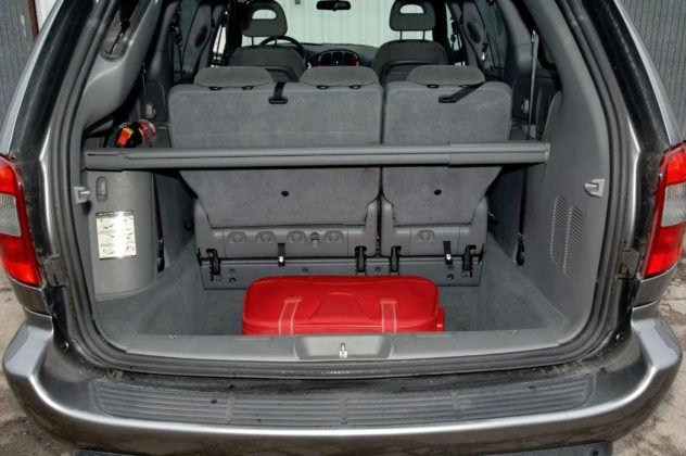 Chrysler Voyager - bagażnik