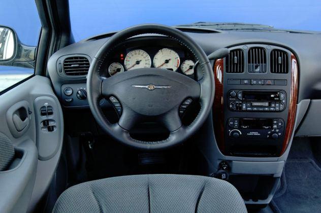Chrysler Voyager - deska rozdzielcza