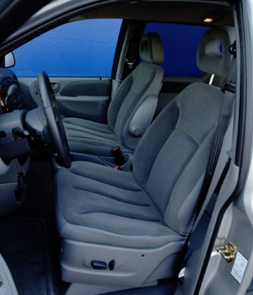 Chrysler Voyager - fotel kierowcy