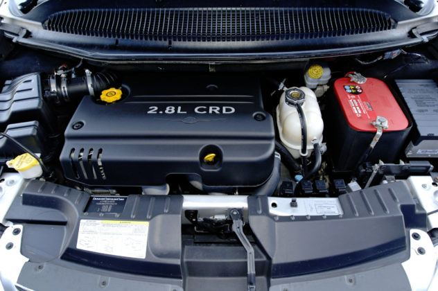 Chrysler Voyager - silnik