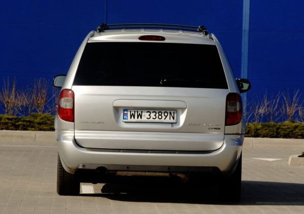 Chrysler Voyager - tył