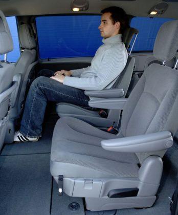 Chrysler Voyager - tylna kanapa