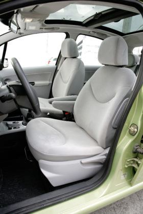 Citroen C3 - fotel kierowcy