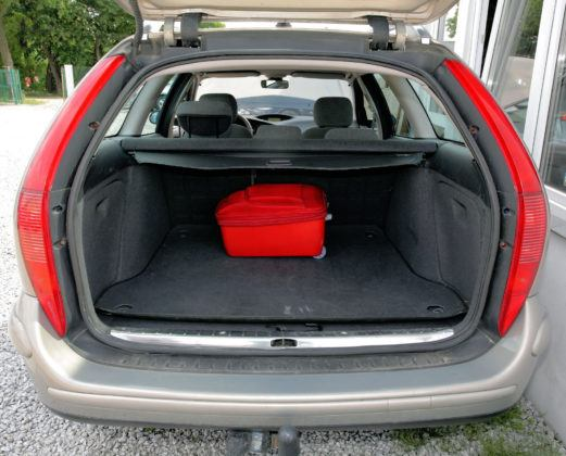 Citroen C5 I - bagażnik