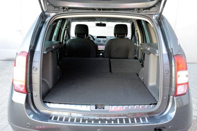 Dacia Duster- bagażnik