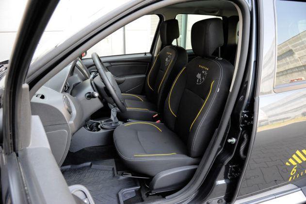 Dacia Duster - fotele przednie