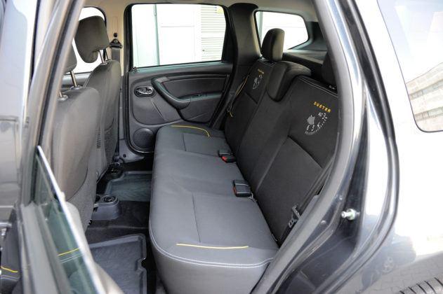 Dacia Duster - kanapa tylna