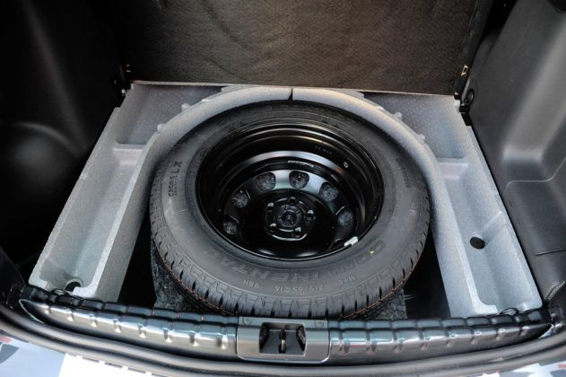 Dacia Duster - koło zapasowe