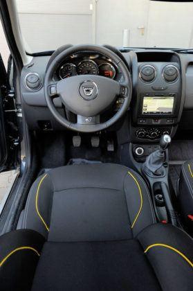 Dacia Duster - miejsce kierowcy