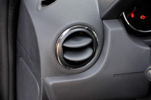Dacia Duster- nawiew