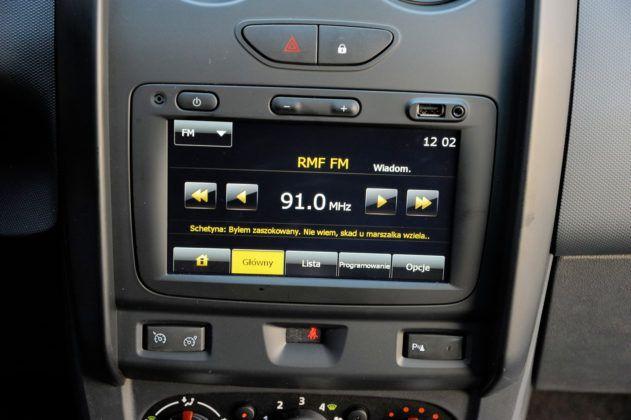 Dacia Duster - radio