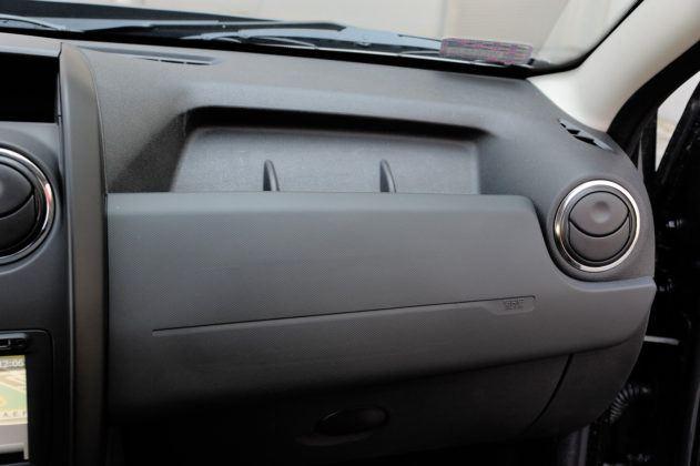 Dacia Duster - schowek