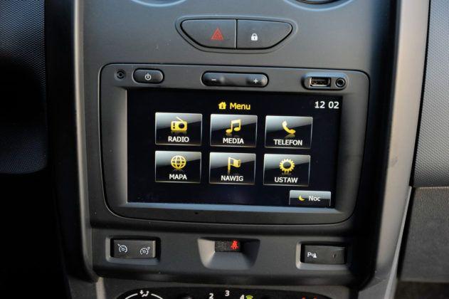 Dacia Duster - system multimedialny