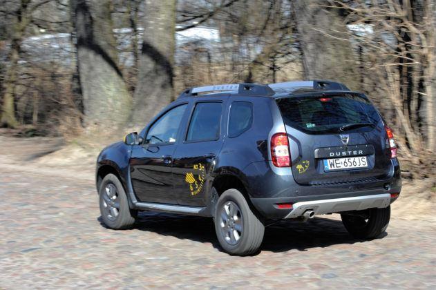 Dacia Duster - tył