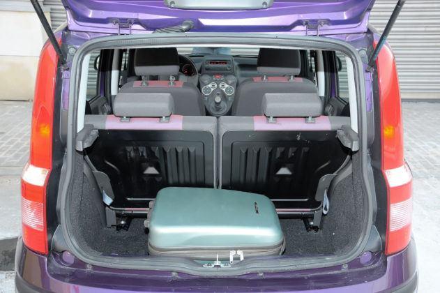 Fiat Panda - bagażnik